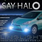 2012-2016 Toyota Prius c Halo Fog Lamps Lights Kit