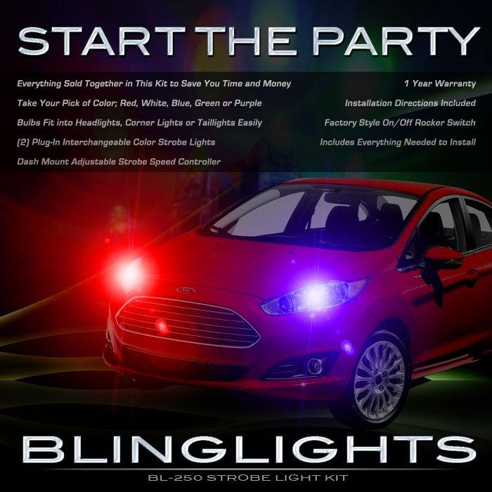 Ford Fiesta Head Lamp Strobe Light Kit