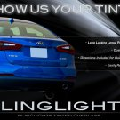 Kia Forte Sedan Tinted Tail Lamp Light Overlays Kit Smoked Taillights Protection Film