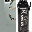 Touch N Seal Spray Gun Poly-Clean Polyurethane Foam Cleaner (1 x 12oz Aerosole Canister)
