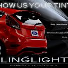 Ford Fiesta Hatch Tinted Tail Lamps Lights Overlays Kit Smoked Protection Film