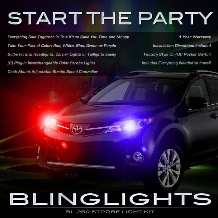 Toyota Rav4 Head Lamps Strobe Light Kit
