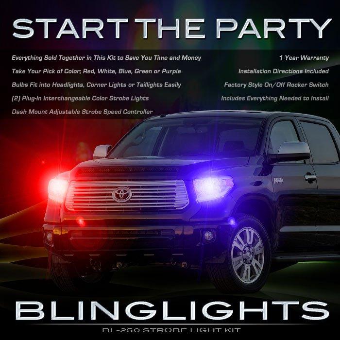 Toyota Tundra Head Lamps Strobe Lights Kit