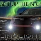 2014 2015 2016 Toyota Highlander Xenon Fog Lamps Driving Lights XU50 Kit