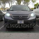 Honda CR-V Bright White Head Lamp 4750K Light Bulbs CRV