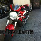 Ducati Monster Head Lamp Xenon HID Light Conversion Kit high low setup