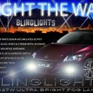 2013 2014 Honda CR-Z Xenon Fog Light Driving Lamps Kit CRZ Foglamps Drivinglights