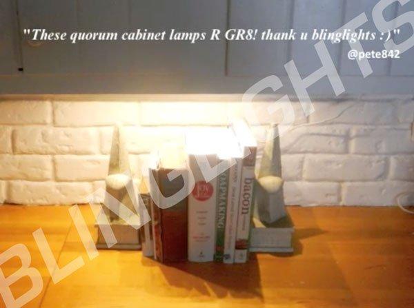 Quorum Under Cabinet Lights Kitchen Lighting Fluorescent Lamp White Fixture System T8