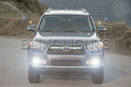 2010 2011 2012 2013 Toyota 4Runner Fog Lamp Light Bulbs Bright White Set