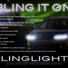Subaru Tribeca LED DRL Head Lamp Light Strips Kit Day Time Running