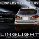 Subaru Tribeca Tinted Tail Lamp Light Overlay Kit Smoked Film Protection