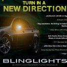 Holden Caprice LED Side Mirror Turnsignal Light Kit Signaler Lamps