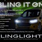 Ford Transit LED DRL Head Lamp Light Strips Kit Day Time Running