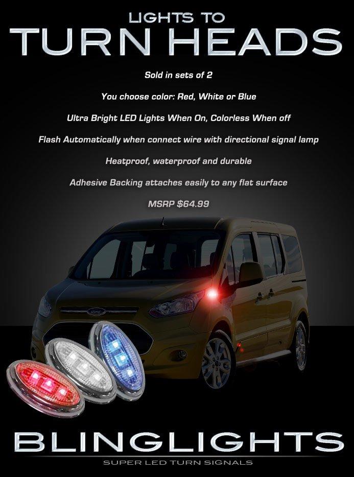 Ford Transit LED Side Flushmount Turnsignal Maker Lights Signaler Lamps