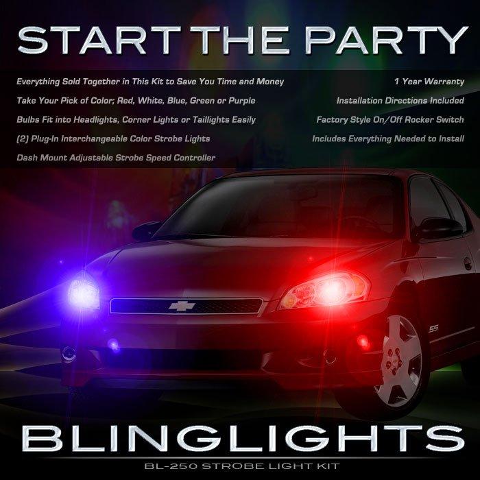 Chevrolet Monte Carlo Police Head Lamp Strobe Light Kit