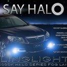 Holden VF Commodore Halo Fog Lamp Driving Light Kit Angel Eyes