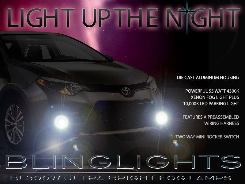 2014 2015 2016 Toyota Corolla Xenon Fog Lamps Lights