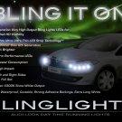 Dacia Logan DRL LED Head Lamp Light Strips Day Time Running Kit