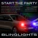 Dacia Lodgy Custom Xenon Head Lamp Strobe Light Kit