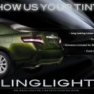 Toyota Camry Tinted Tail Lamp Smoked Light Overlay Kit Protection Film