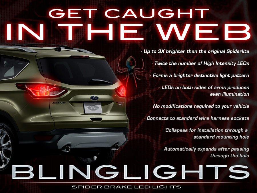 Ford Escape Custom LED Tail Lamp Light Bulbs Set Pair 3D