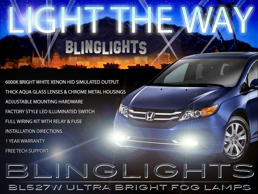 2014 2015 Honda Odyssey Xenon Fog Lamp Driving Light Kit
