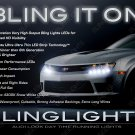 Chevy Camaro LED DRL Head Light Strips Day Time Running Lamp