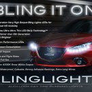 Mazda3 LED DRL Day Time Running Lamp Head Lights Strips Kit