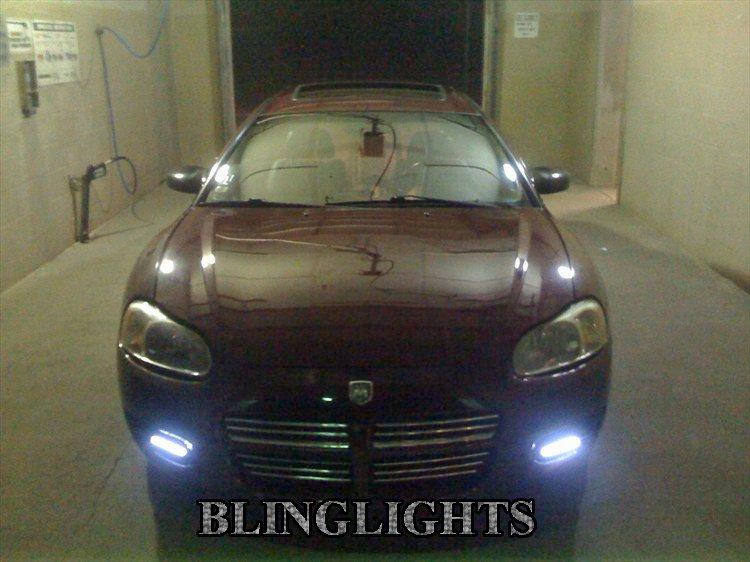 2001-2005 Dodge Stratus Coupe Fog Lamp Driving Light Kit