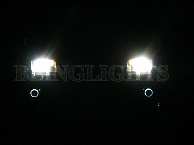 Volkswagen VW Clásico Halo Fog Lamp Driving Light Kit Angel Eyes mk4