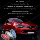 Renault Clio LED Flush Mount Side Turn Signal Lights Accent Marker Lamps