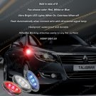 Renault Samsung SM7 LED Flush Mount Turn Signal Lights Marker Accent Lamps Set Blinker Pair