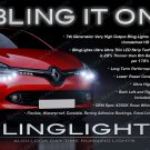 Renault Clio LED DRL Head Light Strips Day Time Running Lamps Kit