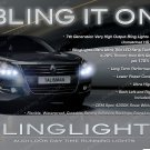 Renault Samsung SM7 LED DRL Head Light Strips Kit Day Time Running Lamps Pair