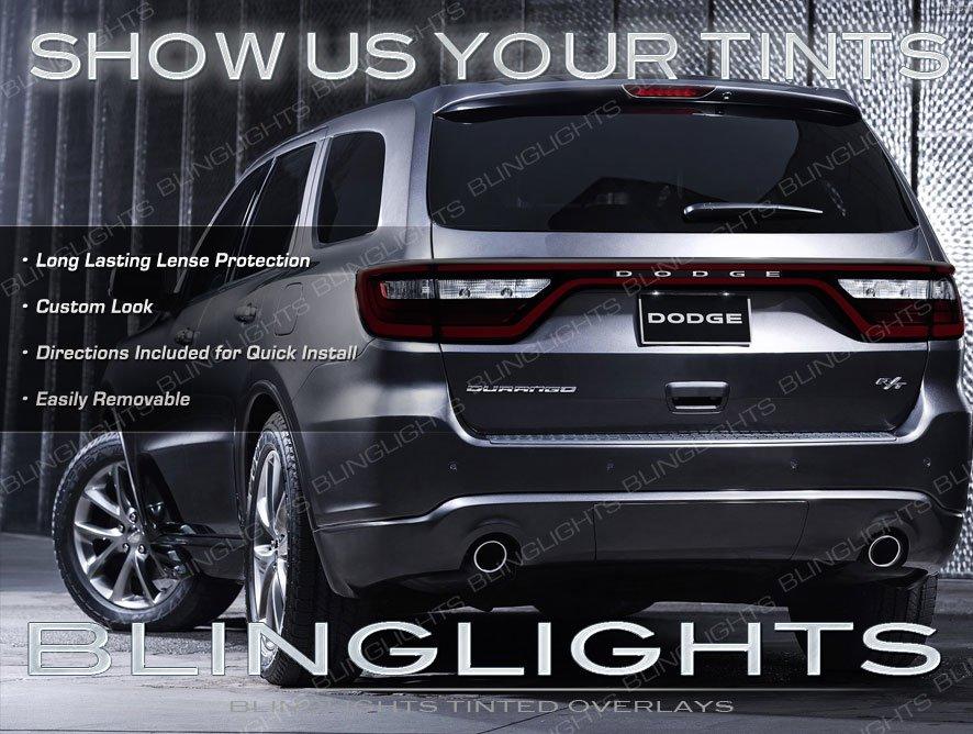 Dodge Durango Tinted Tail Light Overlays Lamp Vinyl Cover Guards Sticker