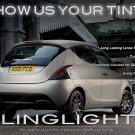 Chrysler Lancia Ypsilon Tinted Tail Lamp Light Overlays Kit Smoked Film Protection