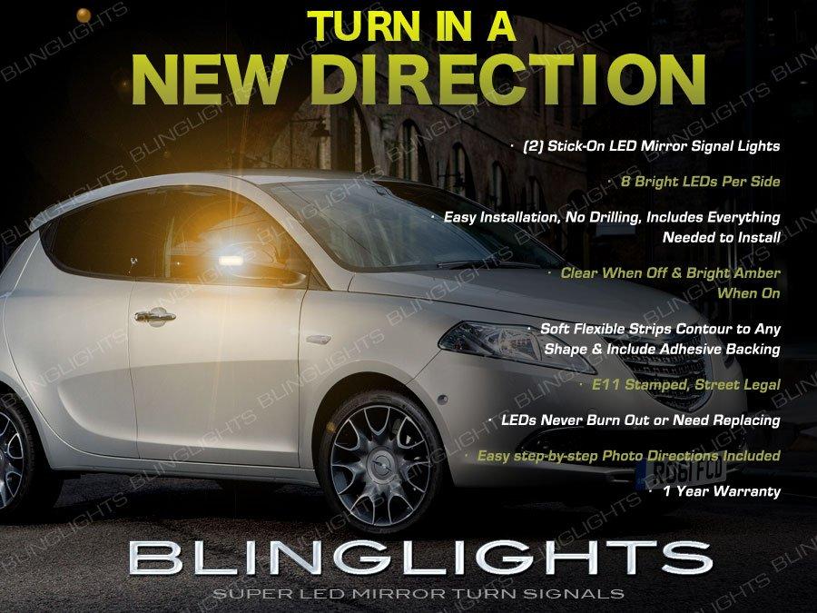 Chrysler Lancia Ypsilon LED Mirror TurnSignal Lights Side Turn Signaler Lamp Set