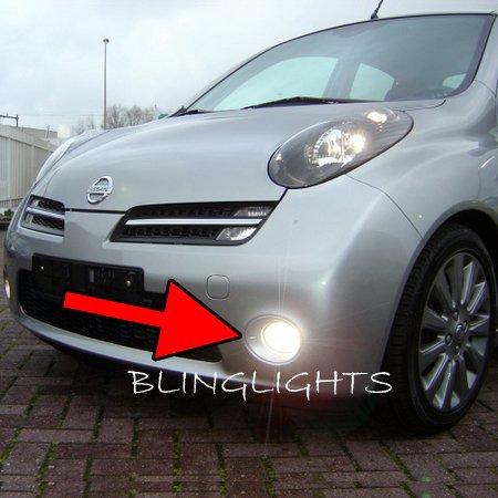 2003-2010 Nissan March Halo Fog Lamp Driving Light Kit Angel Eye K12c K12