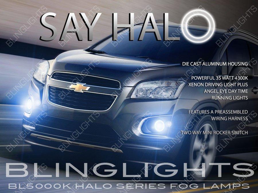 2013-2016 Holden Trax Angel Eye Fog Lamp Driving Lights Kit