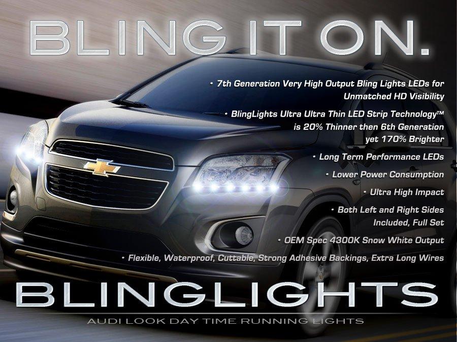 Holden Trax LED Day Time Running Lamps Light Strips Kit LS LTZ