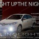 Renault Fluence Xenon Fog Lamps Driving Light Kit Pair Set
