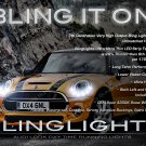Mini Cooper LED DRL Head Lamp Light Strips Kit R50 R52 R53 R55 R56 R57 R58 R59 R60 R61