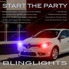 Renault Fluence Xenon Head Lamp Strobe Light Kit multi-color