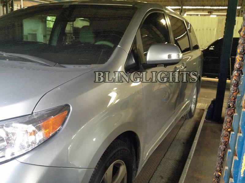 Toyota Sienna Led Side View Mirror Turn Signal Light Set
