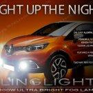 2013-2016 Renault Captur Xenon Fog Lamps Driving Lights Kit 13 2014 2015 16