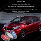 Nissan Versa Note LED Flush Mount Turn Signal Lights Side Accent Marker Lamps