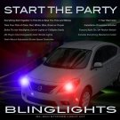 Nissan Versa Sedan Xenon Tail and Head Lamps Strobe Light Kit