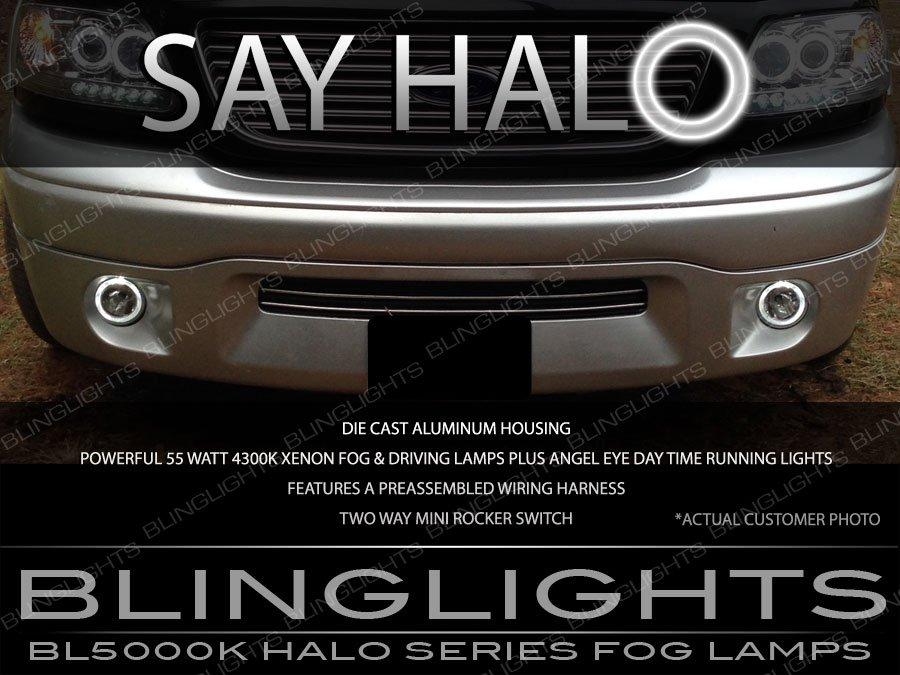 1999-2004 Ford F-150 SVT Lightning Harley Davidson Halo Fog Lamps Driving Lights