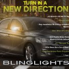 Citroën C-Elysée LED Side Mirror Turn Signal Lights Signaler Lamps set pair Citroen
