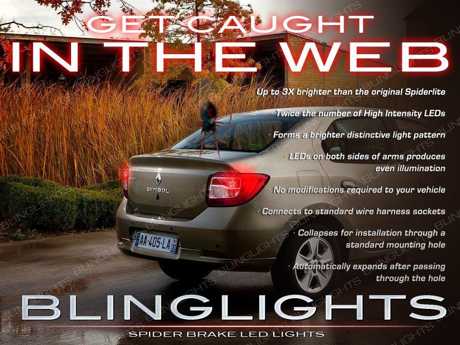 Renault Symbol Custom LED Tail Lamps Light Bulbs Pair Upgrade Replacement Thalia Set